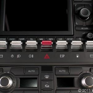 Lamborghini Gallardo Aluminum Metal Window Center Console Switch Covers